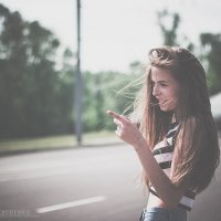 дорога, девушка :: Александр Кравченко