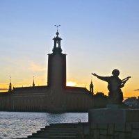хвалебная ода Стокгольму :: Елена