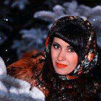 однажды зимним вечером :: Елена Лабанова