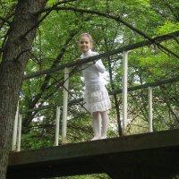На мостике :: Нина Корешкова