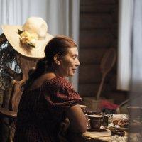 Чаепитие в доме художника :: Ольга