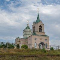 ст. Должанская. Церковь Троицы Живоначальной. :: Юлия Бабитко
