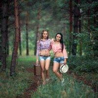 Лена и Ирина :: Анастасия Гавва