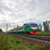Электропоезд ЭД4М-0444 :: Денис Змеев