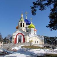 Храм Святого Благоверного князя Игоря Черниговского :: галина северинова