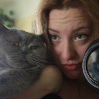 Котейка, я и фотоаппарат :: Мария Кривчук
