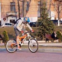 Рэд булл окрыляет... и овелосипедивает. :: Сергей Исаенко