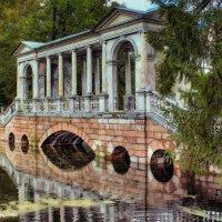 Мраморный мостик в Царском селе :: Валентин Яруллин