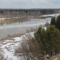 Протока Томи перед впадением в Обь. Нагорный Иштан. :: Lilija Philipp