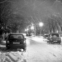Зимний вечер в городе ''Жигулей'' :: Алексей Потапов