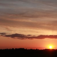 Летний закат :: Anna Tvays