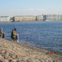 Апрельская рыбалка :: Маера Урусова