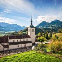 Церковь Святого Теодула, Грюйер, Швейцария :: Максим Гусельников