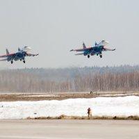 Пара витязей на взлете :: Павел Myth Буканов