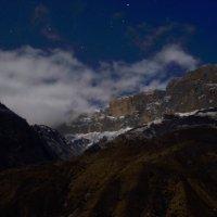 Лунная ночь в горах. :: Ахмат Б.
