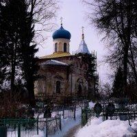 церковь в честь праведного Иова Многострадального :: Сергей Кочнев