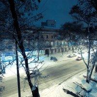 Зима в Одессе... :: Вахтанг Хантадзе
