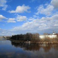 Великие Луки. Вид на центр города с бастиона крепости... :: Владимир Павлов