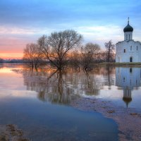 Покрова на Нерли. :: Юлия Холодкова