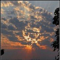 Восход на Днепре :: Андрей Ясносекирский