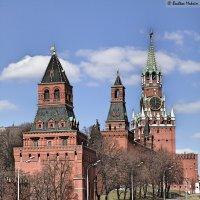 Кремль со стороны Большого Москворецкого моста :: Максим Бочков