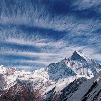мачапуша, священная гора, альпинистов туда не пускают :: Валерий Горбунов