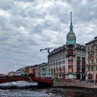 Река Мойка. У Красного моста. :: Валентин Яруллин