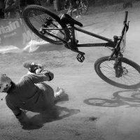 Взбесившийся велосипед :: Николай Галкин