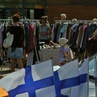 Блошиный рынок в Миккели, Финляндия :: Евгений Мусияченко