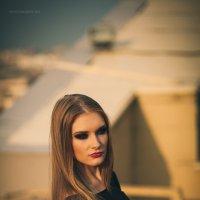 Девушка на крыше :: Mila Nice