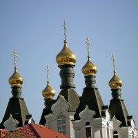 А над Доном золотые купола, золотые купола да меднный звон,,, :: Александр Лысенко