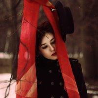 В зимнем лесу :: Елизавета Конова