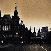 Гербы России на башнях Красной Площади. :: Алла ************