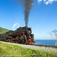 Ретро поезд на КБЖД :: Алексей Белик