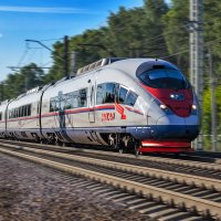 Скорый поезд набирает ход. :: Алексей Caveman