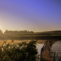 У реки у речки . Раннее утро. :: Мила Бовкун