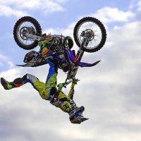 Мотофристайл-шоу Adrenaline FMX Rush 2015 (Москва) :: Александр Назаров