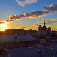 Вечернее солнце :: Наталья Левина