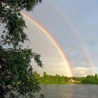 Двойная радуга :: Сергей Карачин