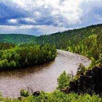 Изгиб реки :: Анатолий Иргл