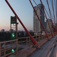 Вечер. Живописный мост. :: Александр Заварухин