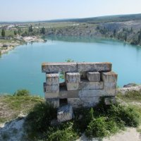 Мраморное озеро.Крым :: Александр Казанцев