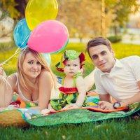 Семейная фотосессия :: Анютка Токарева