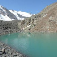 Голубое озеро, Б. Актру, горный Алтай :: Александр Кузнецов