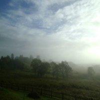Туманное утро на Красной Горе. :: Николай Туркин