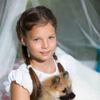 Девочка с собачкой :: Елизавета Тимохина