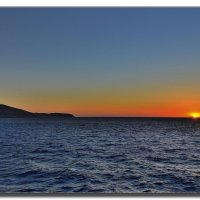 Рассвет над Грецией. :: Leonid Korenfeld
