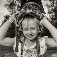 Мой мотоцикл – звездолёт, в шлеме сигналы галактик :: Ирина Данилова