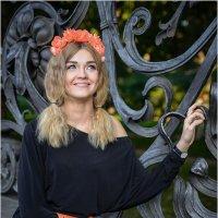 Портрет у решетки Михайловского сада :: Борис Борисенко