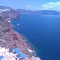 Море в жерле вулкана (Санторини, Эгейское море, Греция) :: Vladimir 070549